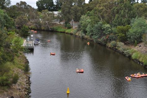Inflatable Boat Yarra River by Inflatable Regatta 2017 Melbourne By Vicky Rae Ellmore