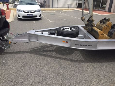 Boats Online Wa Perth by Goldstar Excavator Trailer For Sale Boat Accessories