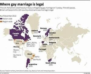 Where gay marriage is legal - graphic of the day ...