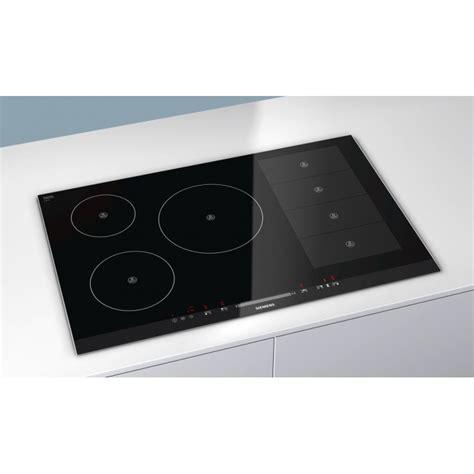 table de cuisson induction siemens eh875mp17e flexinduction 80 cm