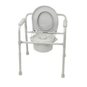 portable commode folding bedside handicap toilet potty chair elevated seat ebay