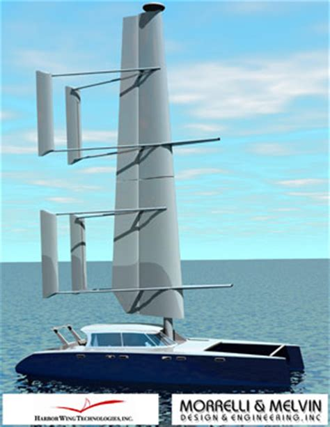 How Does A Catamaran Ferry Work by Wing Sails Boat Design Forums