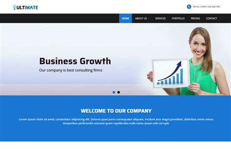 Business Responsive Html Web Template Free Download