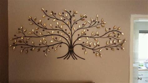 Wall Art Decorative Metal Leaf Tree Home Garden-dma