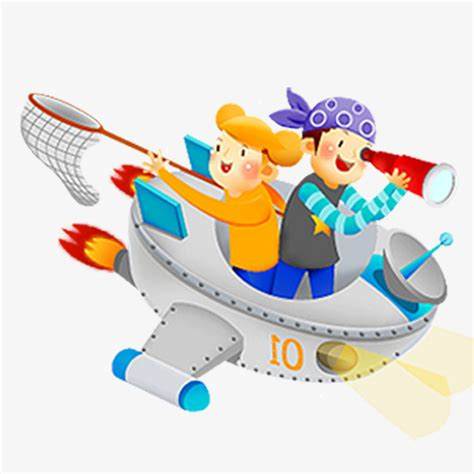 Cartoon Boat Characters color flying boat cartoon characters character color