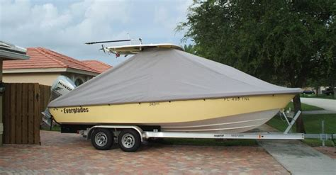 Best Center Console Boat Covers by Covers Inc The Home Of The Ezt Cover