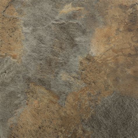 shop stainmaster 1 18 in x 18 in groutable coppermine copper peel and stick luxury