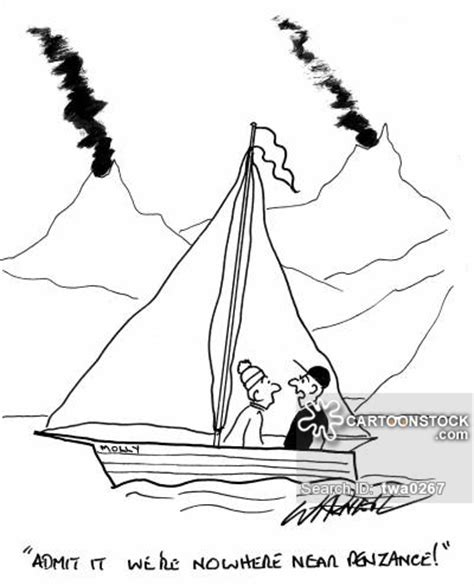 Sailboats Cartoon by Sailboat Cartoons And Comics Funny Pictures From