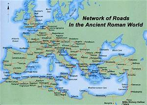 Map of the Roads in Ancient Israel (Bible History Online)