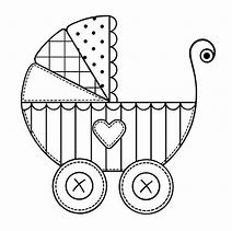 hd wallpapers baby stroller coloring page