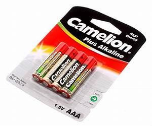 Aaa Batterien Kapazität : 4er pack camelion batterien 1 5v aaa 1250mah lr03 bp4 am4 micro mn2400 e92 ~ Markanthonyermac.com Haus und Dekorationen