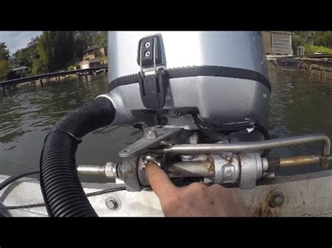 Boat Steering Cable Stuck In Tube by How To Fix A Stuck Boat Steering Cable Works Every Time