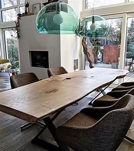 Holztisch Massiv Esszimmer : die 25 besten ideen zu holztisch auf pinterest esstisch eiche esszimmertisch holz und ~ Markanthonyermac.com Haus und Dekorationen