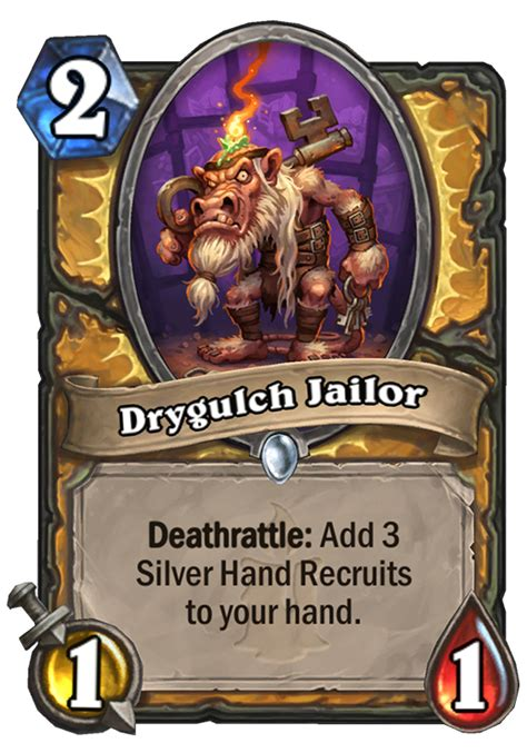 drygulch jailor hearthstone card