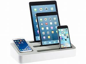 Ipad Iphone Ladestation : callstel multi ladestation 4in1 universal ladest nder f r tablets und smartphones ~ Markanthonyermac.com Haus und Dekorationen