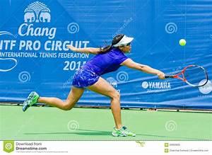 Chang ITF Pro Circuit 2015 Editorial Stock Image - Image ...