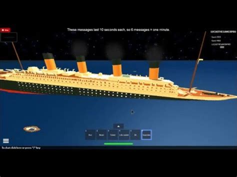 lets play roblox sinking ship simulator splits like titanic 11 1 2015 part