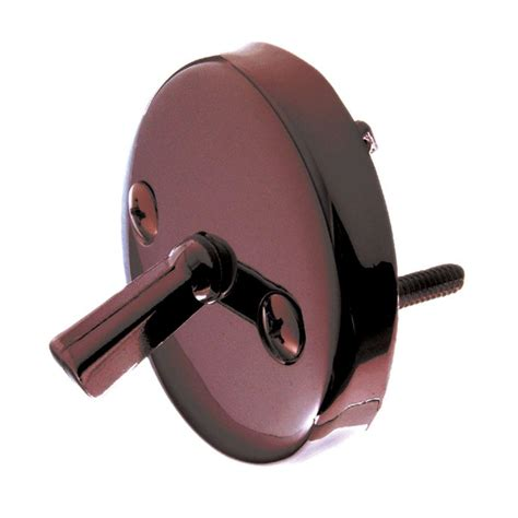 danco overflow plate with trip lever in rubbed bronze 9d00089472 the home depot
