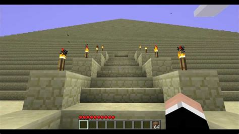 minecraft les 7 merveilles du monde la pyramide de