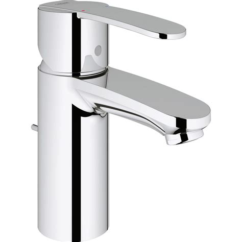mitigeur lavabo chrom 233 grohe wave cosmo leroy merlin