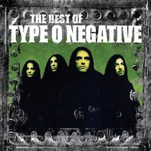 The Best Of Type O Negative  Wikipedia