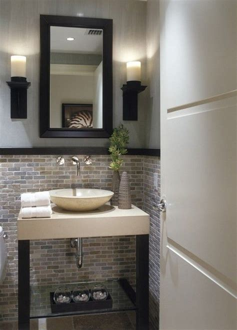 1000 ideas about small half bathrooms on half bathroom remodel half bath remodel