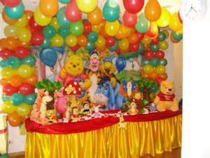 th 234 me winnie l ourson decoration anniversaire