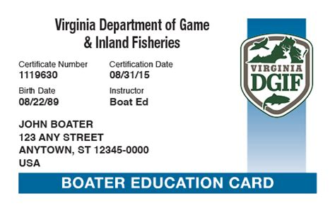 Virginia Boating License Course Online by Virginia Boating License Boat Safety Course Boat Ed 174