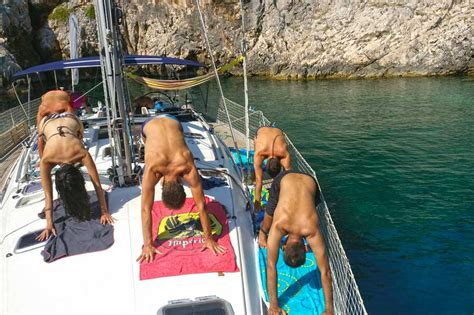Yacht Yoga by Yoga Sailing Retreat Sail And Practice Yoga In A Paradise