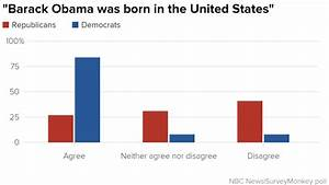 Poll: Persistent Partisan Divide Over 'Birther' Question ...