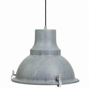 Lampe Industrie Look : industrie lampe mento 38 5 cm grau ~ Markanthonyermac.com Haus und Dekorationen