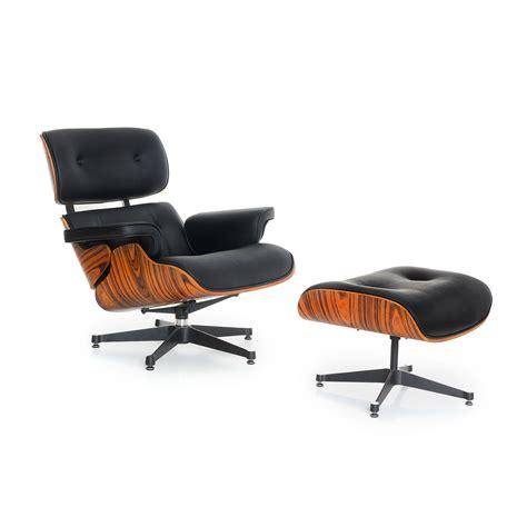 fauteuil et repose pieds lounge meri chaises icon design eames lounge chair chaises de