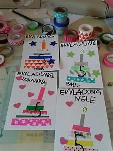 Einladung Kindergeburtstag Gestalten : die besten 17 ideen zu einladung kindergeburtstag basteln auf pinterest einladung ~ Markanthonyermac.com Haus und Dekorationen