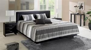 Tagesdecken Für Betten : polsterbett in lederoptik z b in wei adriano ~ Markanthonyermac.com Haus und Dekorationen