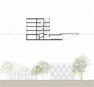Grundriss Schnitt Ansicht : lutz buss architekten ag schulhaus wasgenring basel ~ Markanthonyermac.com Haus und Dekorationen