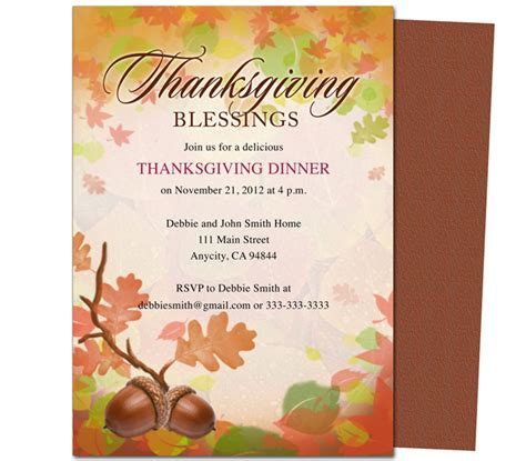 Thanksgivng Dinner Pages Template by 8 Best Images Of Free Printable Thanksgiving Templates
