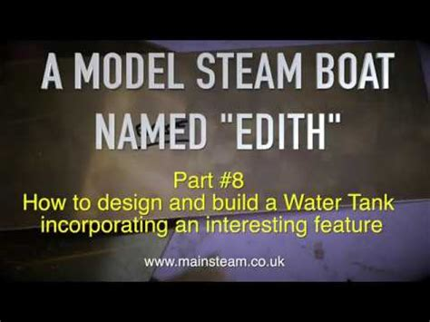 Model Steam Boat Youtube by A Model Steam Boat Named Edith Part 8 Youtube