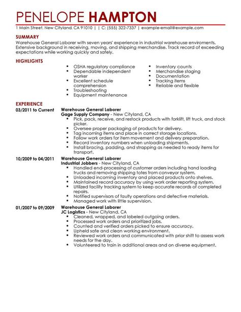 Best General Labor Resume Example  Livecareer. Skills For High School Resume. Sampe Resume. Catering Sales Manager Resume. Librarian Resumes. Sample Resume For Job. Create Free Resume Templates. How To Create A Simple Resume. Problem Solving Resume