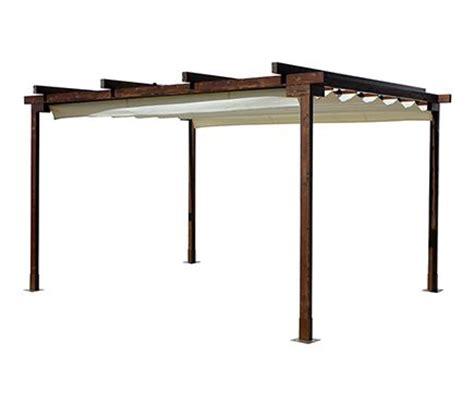 p 233 rgola de 4 x 3 m eco con toldo leroy merlin rooftop chang e 3 pergolas and