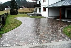 Platten Für Einfahrt : natursteinbel ge natursteinplattenbelag egli gartenbau ag uster ~ Markanthonyermac.com Haus und Dekorationen
