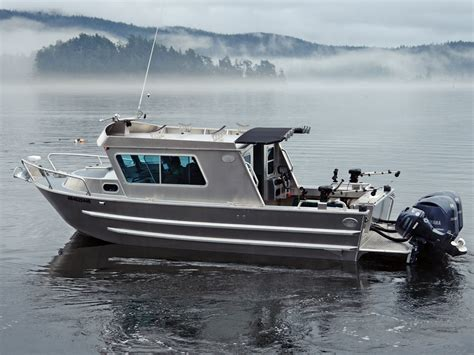 Swift Lake Boat R by 25 Swiftsure Aluminum Cabin Boat By Silver Streak Boats