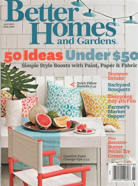 Better Homes And Gardens Magazine Subscription 13 best images about vintage bhg magazine covers on