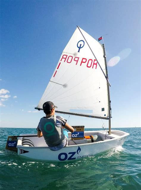 Boot Optimist by Optimist Sails One Design Sails And Accessories