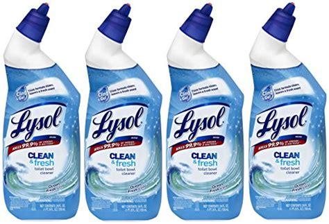 lysol clean fresh toilet bowl cleaner cling gel