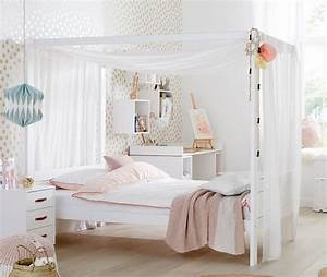 Bett Für Mädchen : lifetime himmelbett 120x200 cm aus massiver kiefer original ~ Markanthonyermac.com Haus und Dekorationen