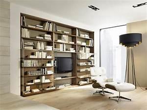 Moderne Wohnzimmer Schrankwand : die moderne wohnwand sch ner wohnen ~ Markanthonyermac.com Haus und Dekorationen