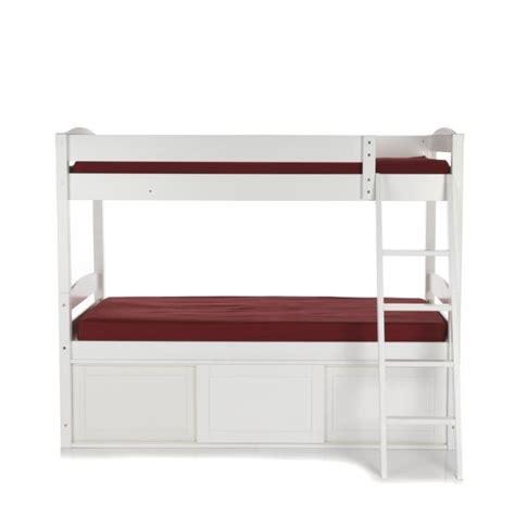 faustine lits superpos 233 s avec rangements achat vente lit superpose pas cher couleur et design fr