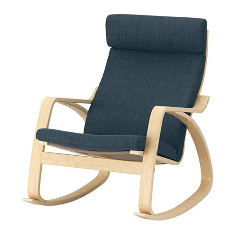 po 196 ng rocking chair hillared blue ikea