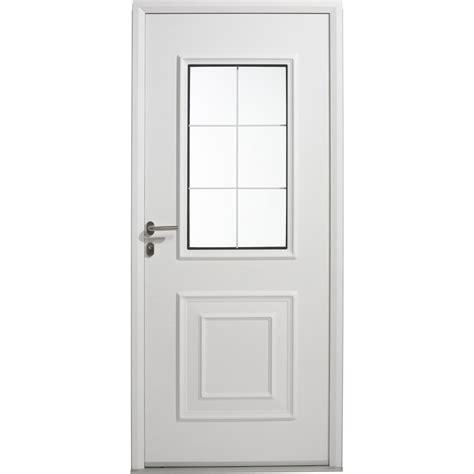 porte d entr 233 e aluminium utah artens poussant gauche h 215 x l 90 cm leroy merlin