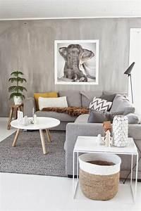 Wohnzimmer Boden Grau : wohnzimmer grau in 55 beispielen erfahren wie das geht ~ Markanthonyermac.com Haus und Dekorationen